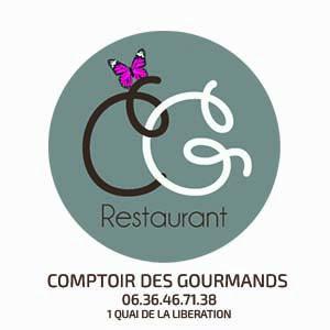 logo comptoir des gourmands pour site