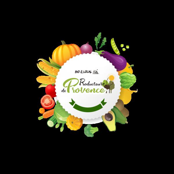 logo avec les fruits